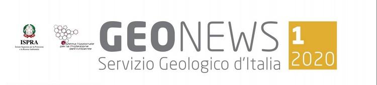 Geonews, newsletter n.1/2020 del Servizio Geologico d'Italia