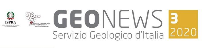 Geonews, newsletter n.3/2020 del Servizio Geologico d'Italia