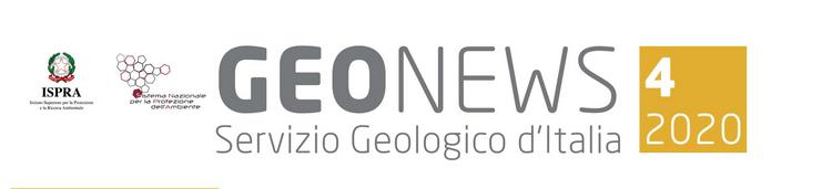 Geonews, newsletter n.4/2020 del Servizio Geologico d'Italia