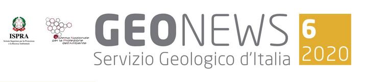Geonews, newsletter n.6/2020 del Servizio Geologico d'Italia