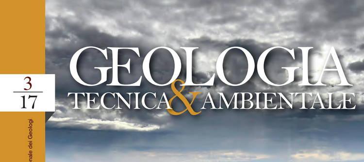 GEOLOGIA T&A - n. 3/2017