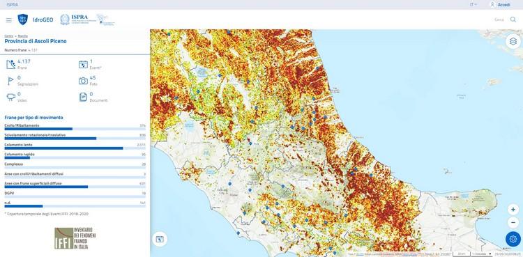IdroGEO -La piattaforma italiana sul dissesto idrogeologico