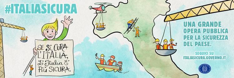 """#italiasicura: online le """"Linee guida per le attività di contrasto al rischio idrogeologico"""" - ottobre 2017"""