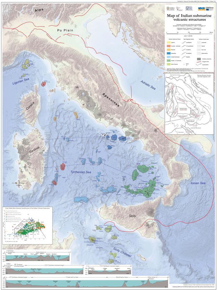 Atlante delle Strutture Vulcaniche Sottomarine Italiane