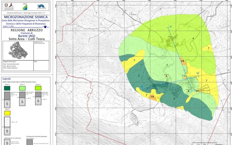 Open Data Sisma 2016, disponibili per il download i dati degli studi di microzonazione sismica