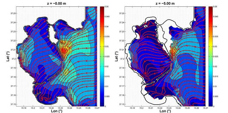 ISPRA, modellistica per la valutazione della movimentazione dei sedimenti in aree marino-costiere