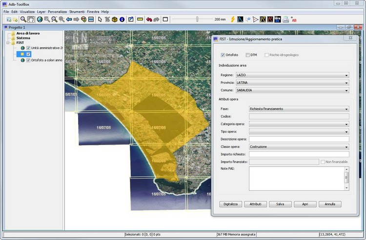 AdB-Toolbox; applicativo GIS open source per l'elaborazione di dataset spaziali