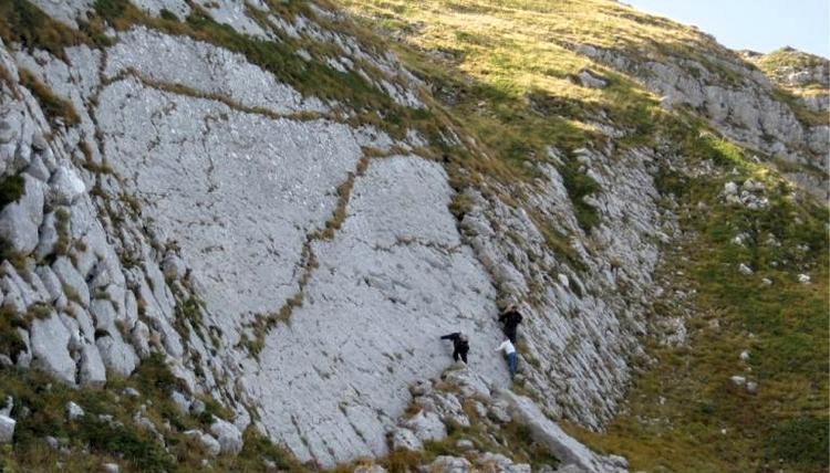 INGV. in Abruzzo le impronte del più grande dinosauro bipede finora documentato in Italia