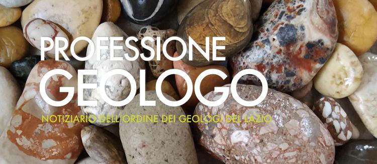Professione Geologo - agosto 2020, online il notiziario dell'Ordine dei Geologi del Lazio