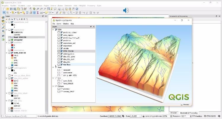 QGIS: analisi spaziale e geoprocessing, nuovo videocorso online