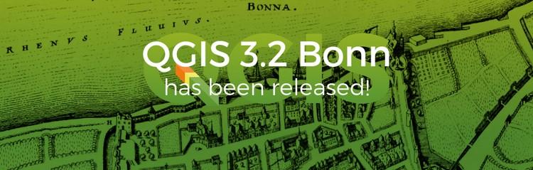 """QGIS 3.2 """"Bonn"""", nuova versione per il GIS Open Source"""