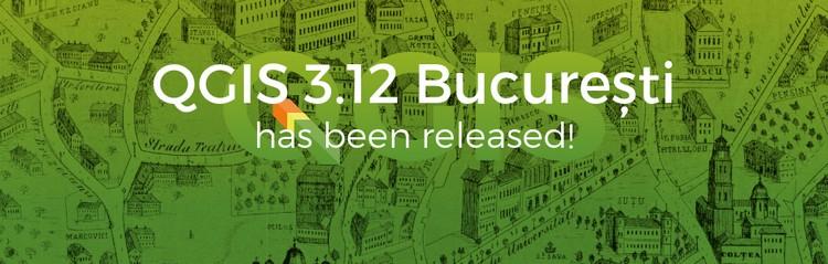 QGIS disponibile la nuova versione 3.12 București