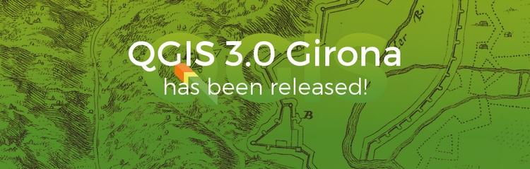 QGIS, rilasciata nuova versione 3.0 Girona
