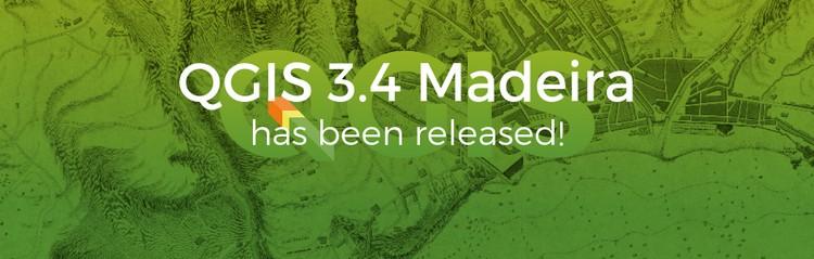 """QGIS 3.4 """"Madeira, nuova versione per il GIS Open Source"""