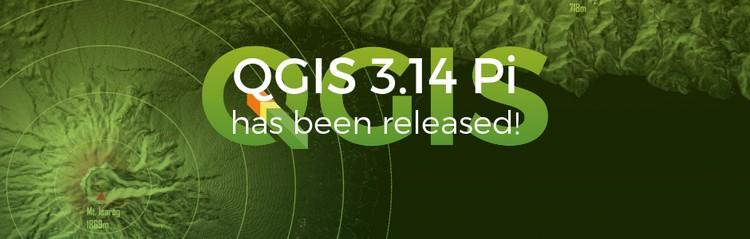 QGIS disponibile la nuova versione 3.14 Pi