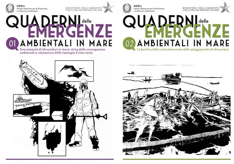 """Collana """"I Quaderni delle Emergenze Ambientali in Mare"""" - ISPRA"""