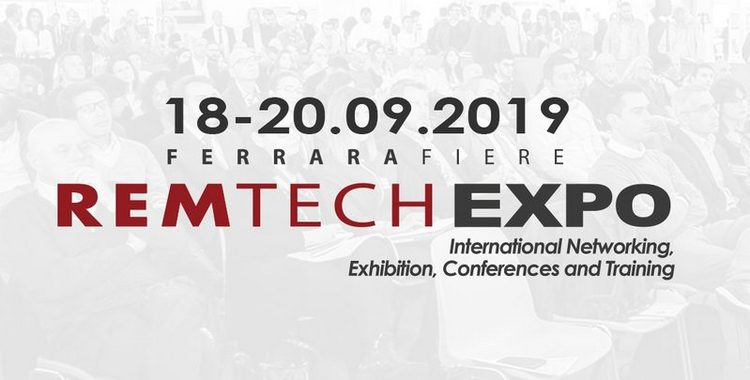 RemTech Expo, in scena dal 18 al 20 settembre a FerraraFiere