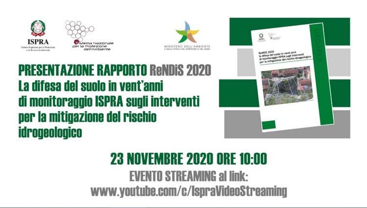 Workshop, presentazione del Rapporto ReNDIS 2020