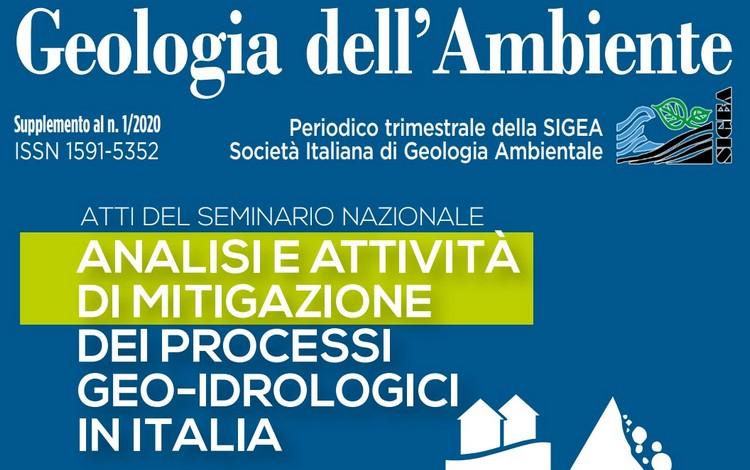 Analisi e attività di mitigazione dei processi geo-idrologici in Italia, online atti seminario