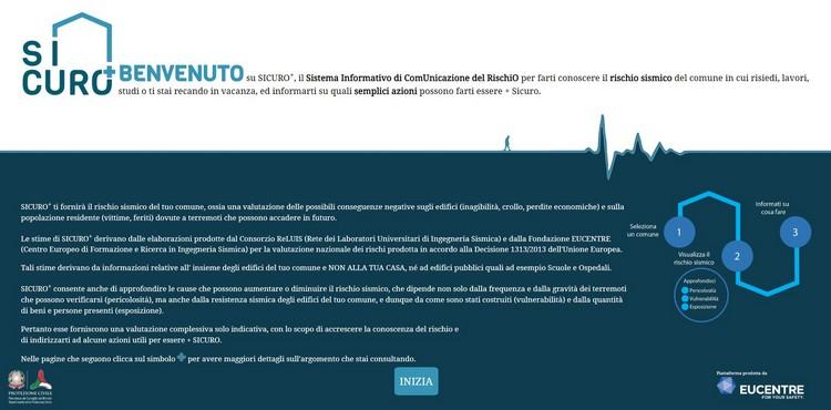 SICURO+, Sistema Informativo di ComUnicazione del RischiO