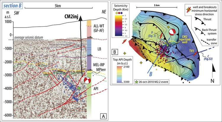 INGV; Studio di dettaglio sulla sismicità indotta in Val d'Agri