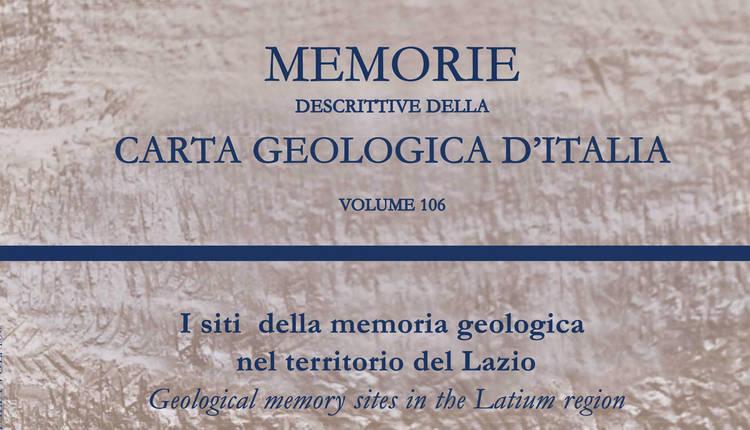 I siti della memoria geologica nel territorio del Lazio