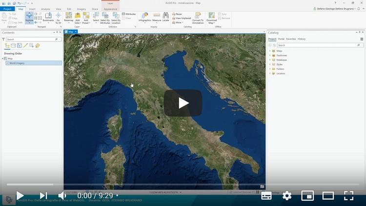 ArcGIS Pro: dalla cartografia di base al WebGIS (Lezione 1)