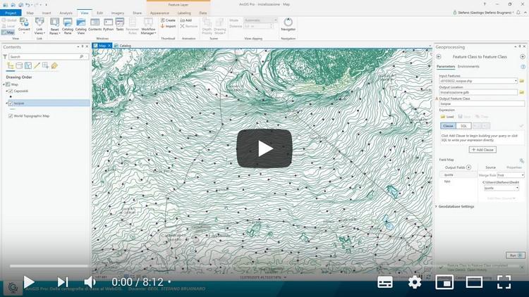 ArcGIS Pro: dalla cartografia di base al WebGIS (Lezione 2)