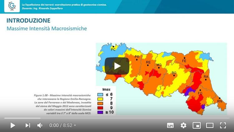 La liquefazione dei terreni: esercitazione pratica di geotecnica sismica (Lezione 2)