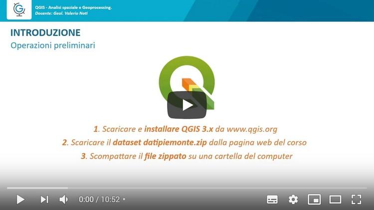 QGIS: analisi spaziale e geoprocessing (Lezione 1)