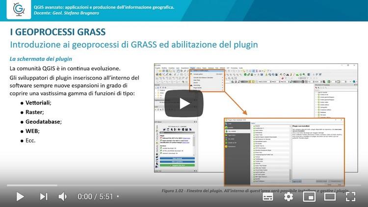 QGIS avanzato: applicazioni e produzione dell'informazione geografica (Lezione 1)