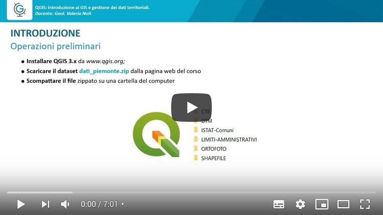 QGIS: introduzione ai GIS e gestione dei dati territoriali (Lezione 1)