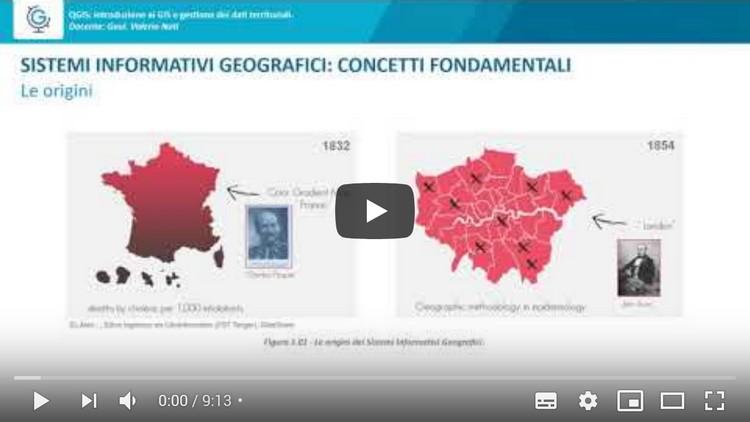QGIS: introduzione ai GIS e gestione dei dati territoriali (Lezione 2)