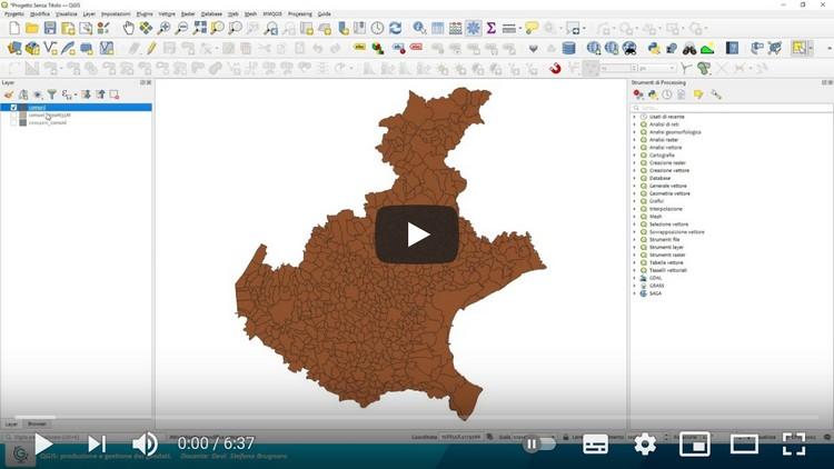 QGIS: produzione e gestione dei geodati (Lez.2)